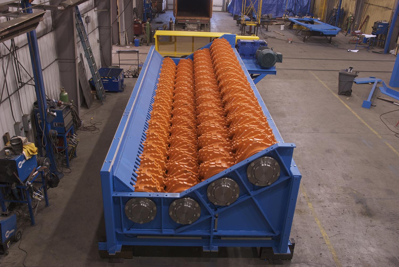 Brunette Machinery - Reclaimer Debarker