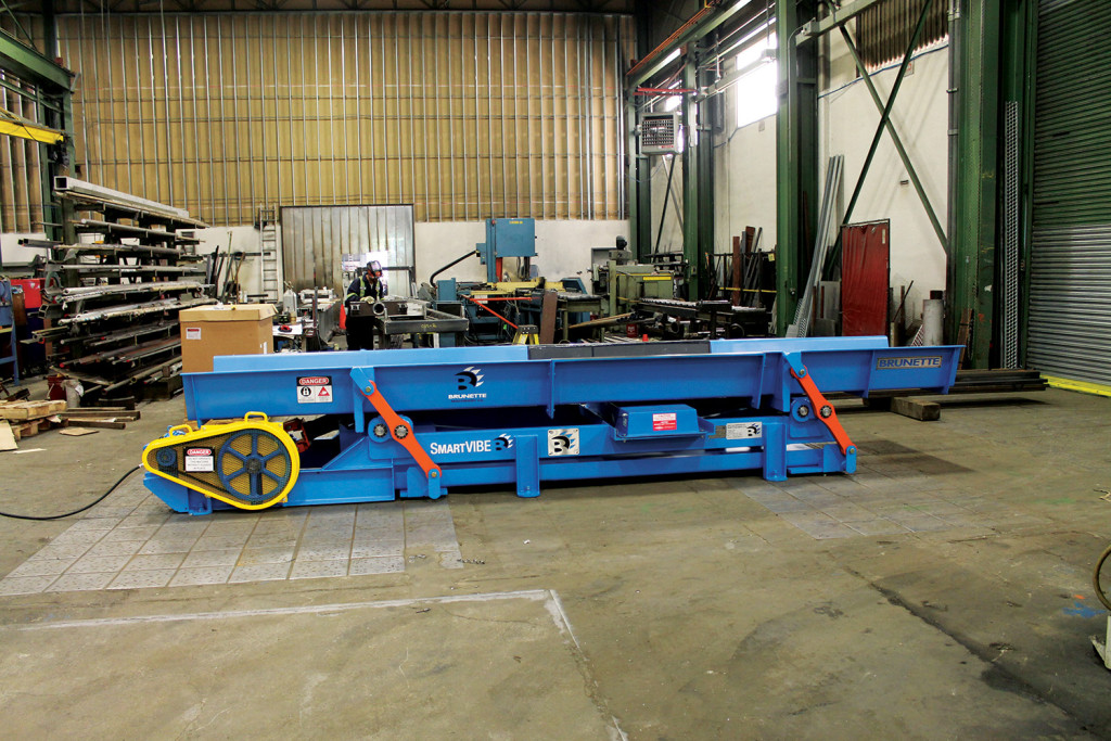 Brunette Machinery - SmartVIBE Vibrating Conveyor