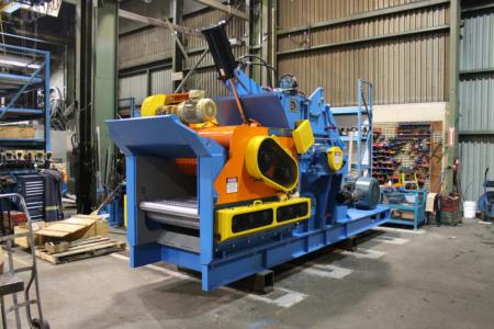 Brunette Machinery - Veneer Chipper