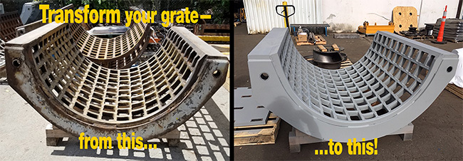 Grizzly Mill Hog grates image