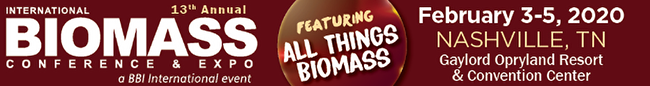 International Biomass Conference logo